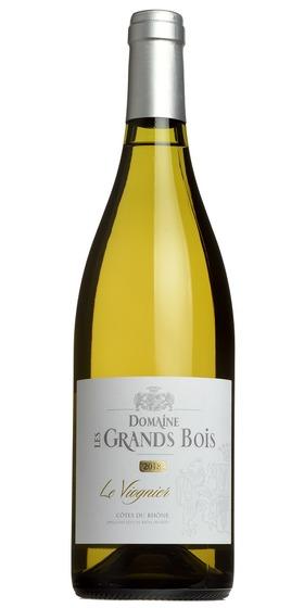 Côtes du Rhône Viognier, Domaine Les Grands Bois 2018