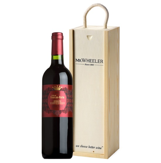 Fine Bordeaux Wine Gift Box