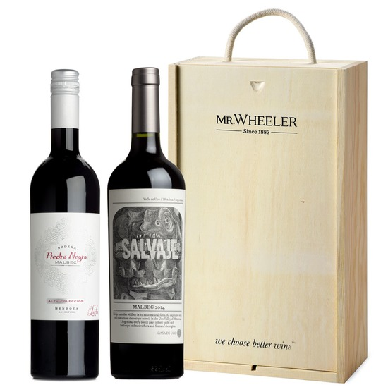 Great Grapes: Malbec Red Wine Duo Gift Box