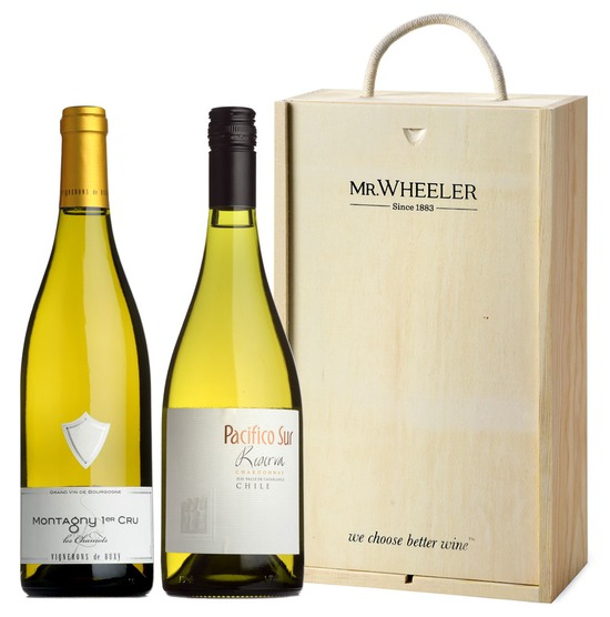 Great Grapes: Chardonnay Duo Gift Box
