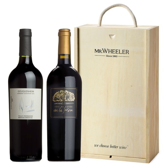 Great Grapes: Cabernet Sauvignon Duo Gift Box