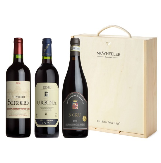 Fine European Reds Wine Gift Box