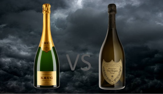 Kick start the new year with our Dom Pérignon Vs. Krug Champagne Tasting | Just £24