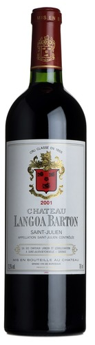 2001 Chateau Langoa-Barton, Cru Classe, St.Julien