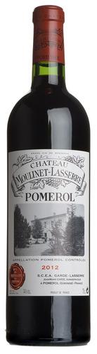 2012 Château Moulinet-Laserre, Pomerol