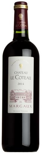 2014 Le Coteau, Margaux, Bordeaux