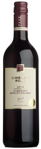2014 Gimblett Road Cabernet/Merlot/Malbec, CJ Pask, Hawke's Bay