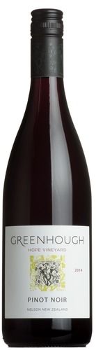 2014 Pinot Noir 'Hope Vineyard', Greenhough, Nelson