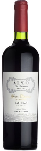 2014 Carignan, Alto Los Romeros, Central Valley