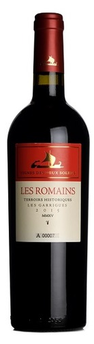 2015 Les Romains Rouge, Vignes des Deux Soleils, Languedoc (magnum)