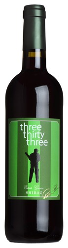 2016 Shiraz, Three Thirty Three, Languedoc