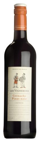 2018 Grenache/Pinot Noir, Les Vignerons, Vin de France