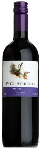 2019 Merlot, Pato Torrente, Central Valley