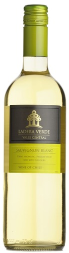 2019 Sauvignon Blanc, Ladera Verde, Central Valley