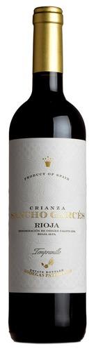 2017 Sancho Garces Rioja Crianza, Bodegas Patrocinio, Rioja