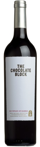 2017 The Chocolate Block Shiraz , Boekenhoutskloof, Franschhoek