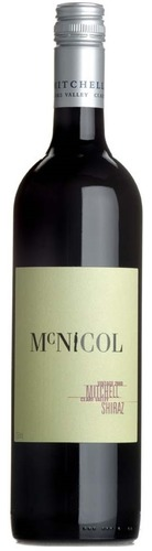 2007 McNicol Shiraz, Mitchell, Clare Valley