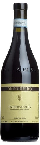 2016 Barbera d'Alba, Monchiero