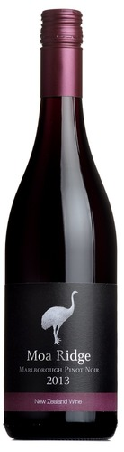 2013 Pinot Noir, Moa Ridge, Marlborough