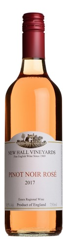 2017 Pinot Noir Rosé, New Hall, Essex