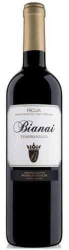 2018 Bianai Tempranillo Rioja Tinto, Bodegas Ugalde