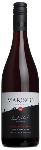 2016 Pinot Noir, Marisco Vineyards, Marlborough