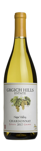 2017 Napa Valley Chardonnay, Grgich Hills Estate, Napa Valley