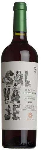 2018 El Salvaje Orgánico Pinot Noir, Casa de Uco, Uco Valley