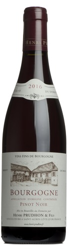 2016 Bourgogne Pinot Noir, Henri Prudhon