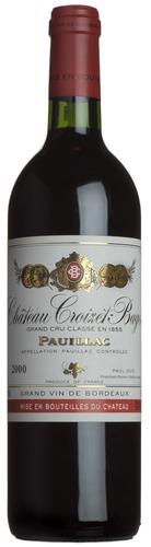 2000 Château Croizet-Bages, Pauillac