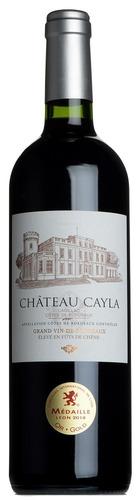 Château Cayla, Cadillac, Côtes de Bordeaux 2018