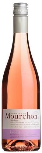 2016 Loubié Côtes du Rhône Rosé, Domaine de Mourchon