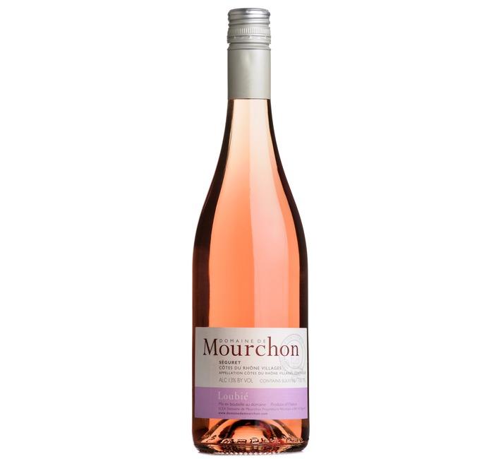 2018 Loubié Côtes du Rhône Rosé, Domaine de Mourchon, Rhône
