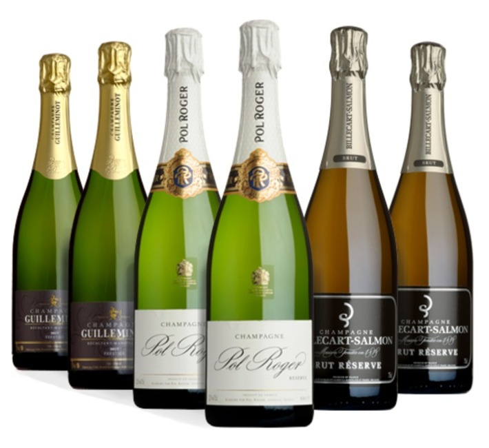 Champagne Six Mixed Case