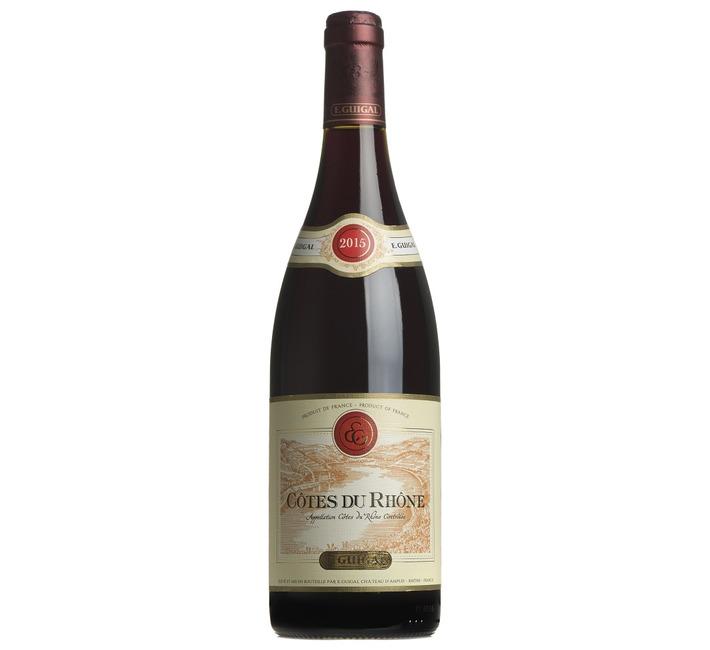 2015 Côtes du Rhône Rouge, E.Guigal