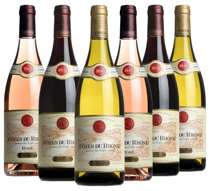 Guigal Côtes du Rhône Mixed Case