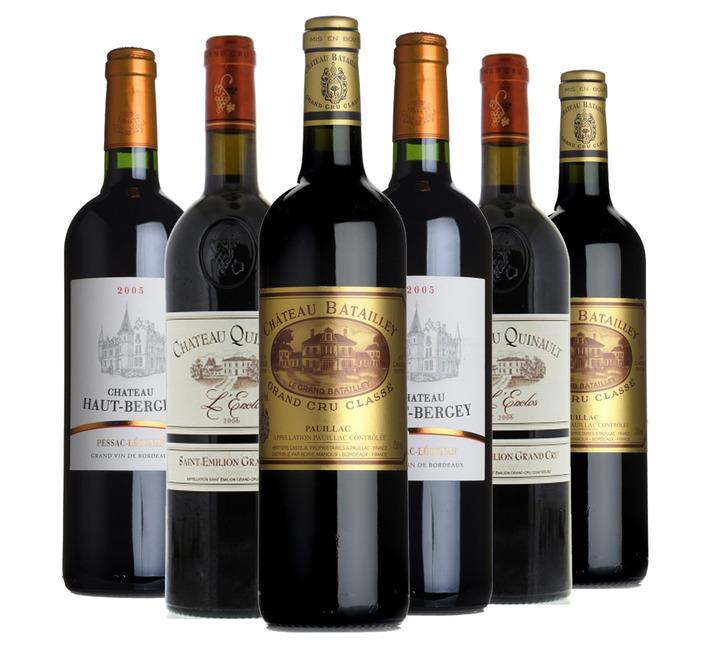 2000s Claret Fine Wine Mixed Case