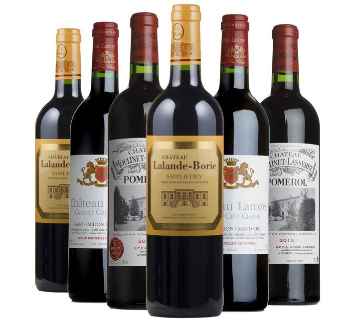2012 Bordeaux Fine Wine Mixed Case