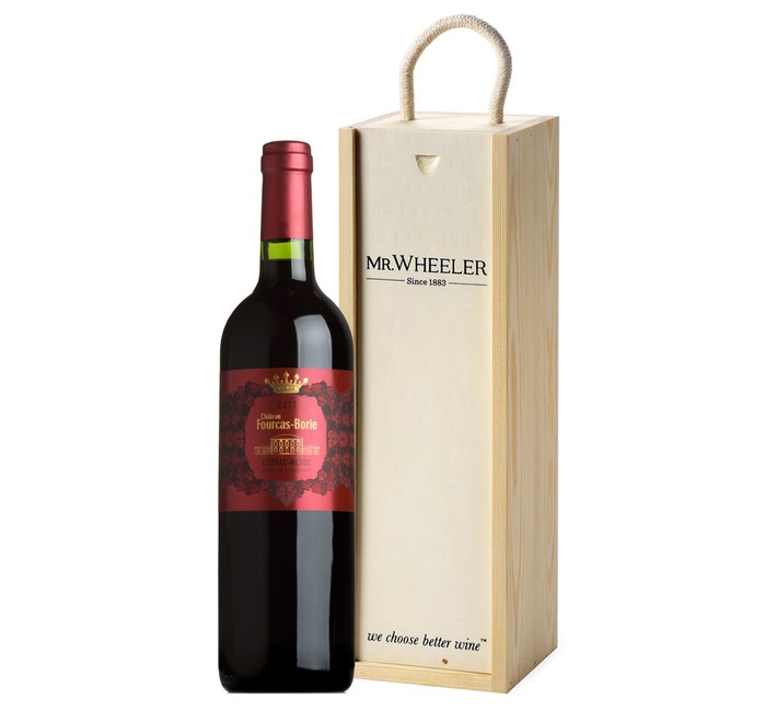 Fine Bordeaux Red Wine Gift Box