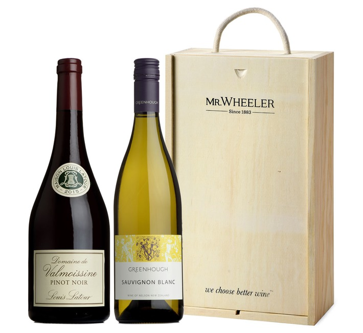 Entertaining Pair Wine Gift Box