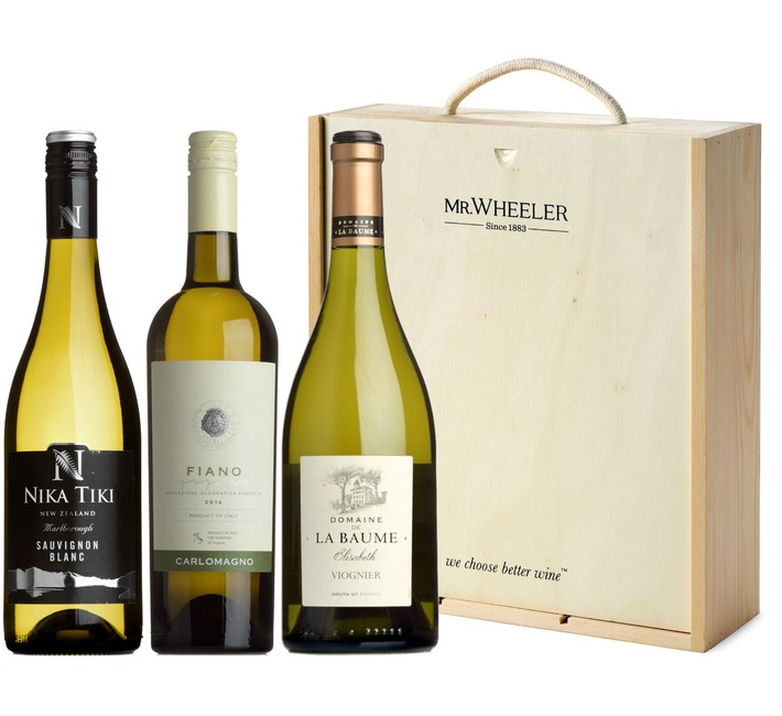Great White Grapes Wine Gift Box