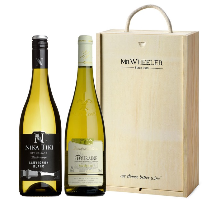 Great Grapes: Sauvignon Blanc White Wine Duo Gift Box