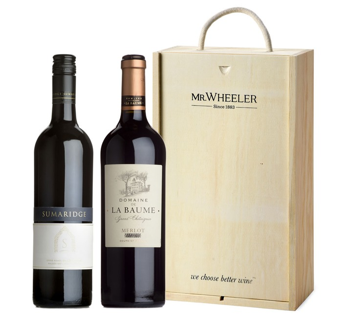 Great Grapes: Merlot Red Wine Duo Gift Box