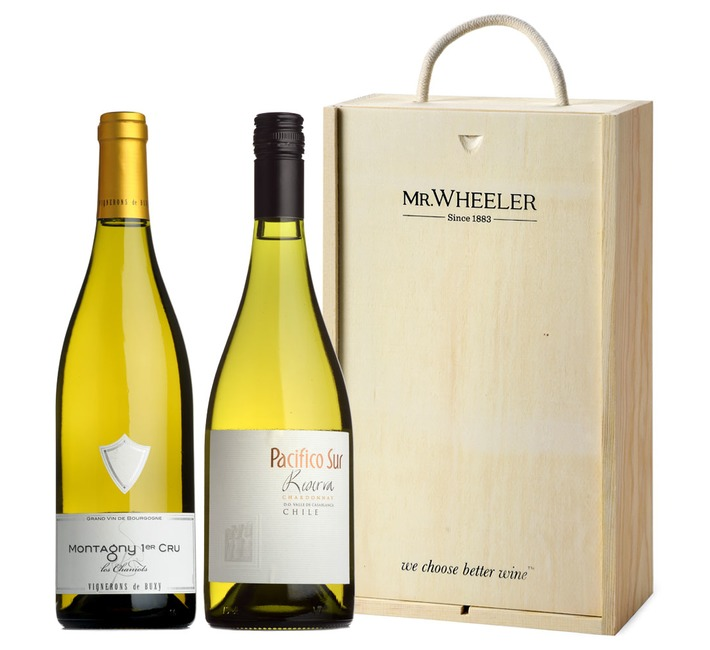 Great Grapes: Chardonnay White Wine Duo Gift Box
