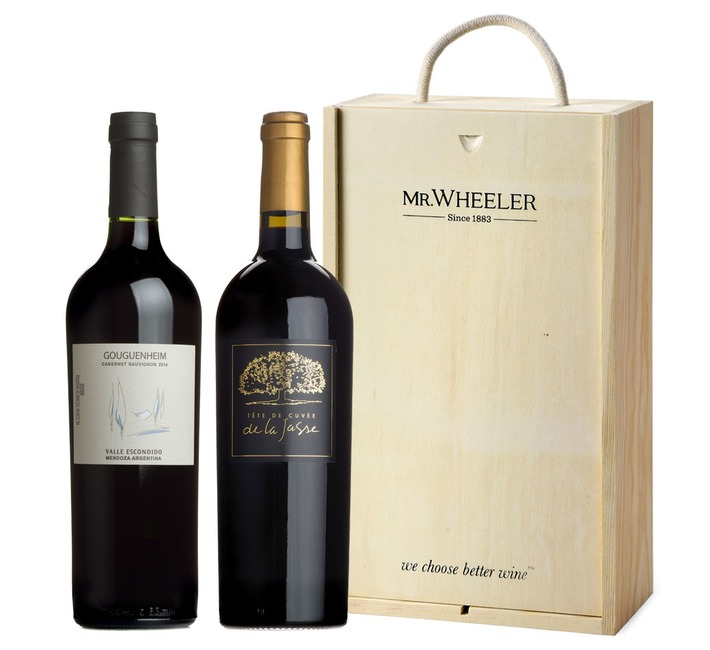 Great Grapes: Cabernet Sauvignon Red Wine Duo Gift Box