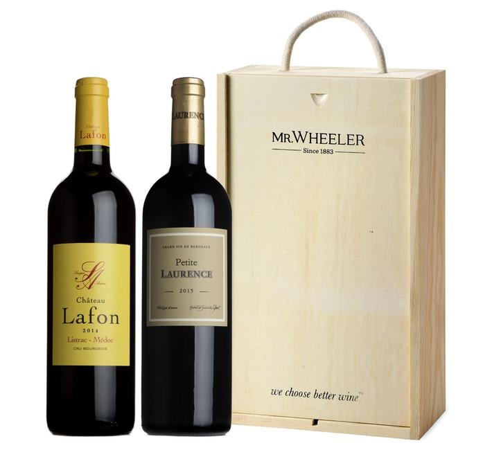 Bordeaux Duo Wine Gift Box