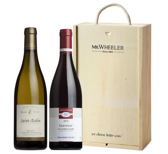 Top Burgundy Duo Gift Box