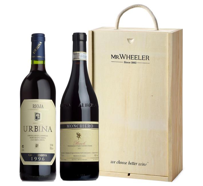 Barolo & Rioja Wine Gift Box