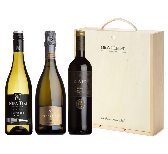 Favourites Trio Mixed Wine Gift Box