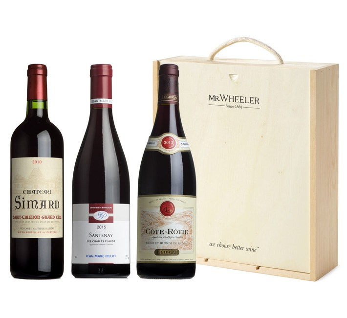 Fine French Red Wine Gift Box